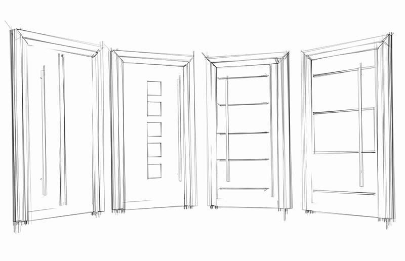 Schoofs Türen Haustür Niederrhein Goch Holz