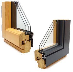 Schoofs Fenster Goch Niederrhein Holz Alu