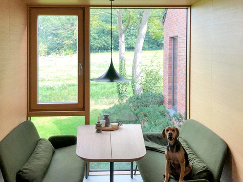 schoofs Fenster Naturfarben Holz