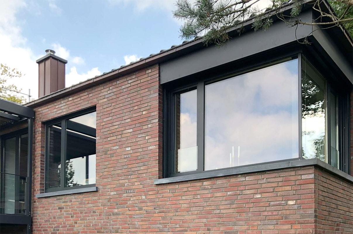 Schoofs Panoramafenster Alu